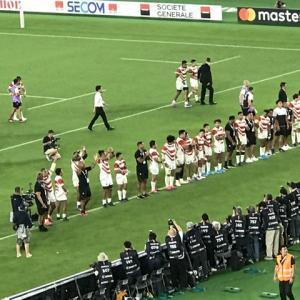 ラグビーW杯日本、スコットランド撃破の瞬間