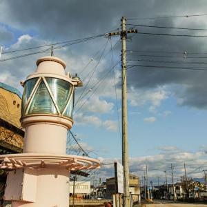 新居浜市 海岸通り、不思議な灯台