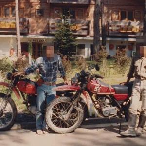昔の写真から・・・ヤマハ XT250