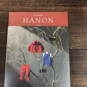 doll sewing book 「HANON -arrangement-」届きました(❤→∀←)