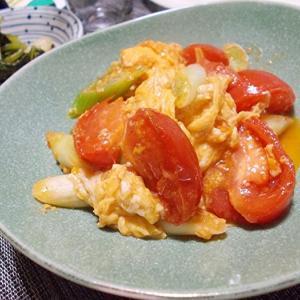 ◆トマトと玉子の炒めもの