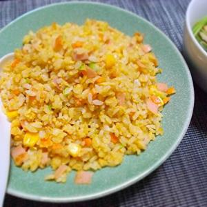 ◆パラパラ炒飯、スープ