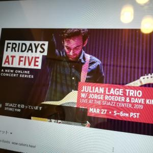 Julian Lage Trio @ Fridays at Five