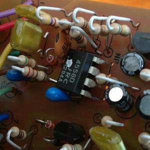 夏の工作(4) TS808オペアンプ交換