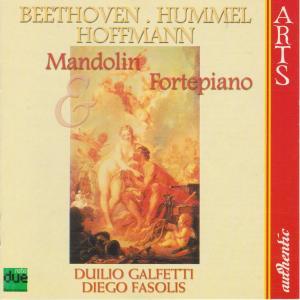 ベートーヴェン マンドリンとピアノ(チェンバロ)のためのアンダンテと変奏WoO44no.2