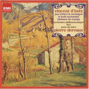 ダンディ  山の夏の日op.61  デルヴォー指揮ロワール・フィル