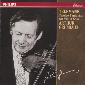 グリュミオーのテレマン 12の幻想曲