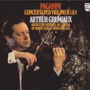 グリュミオーのパガニーニ ヴァイオリン協奏曲第1番ニ長調