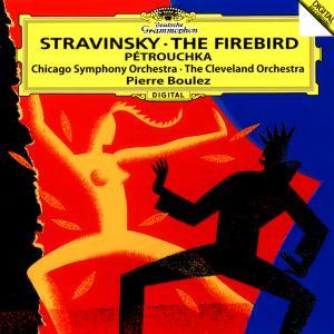 ストラヴィンスキー  花火  ブーレーズ指揮シカゴ交響楽団