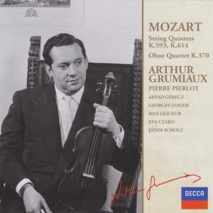 モーツァルト オーボエ四重奏曲Kv.370 ピエルロ、グリュミオー他
