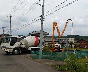 コンクリート打設・型枠工事(立上り)・第2回配筋検査