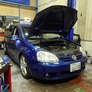 VWゴルフのオイル漏れ修理、、 完成かな!?