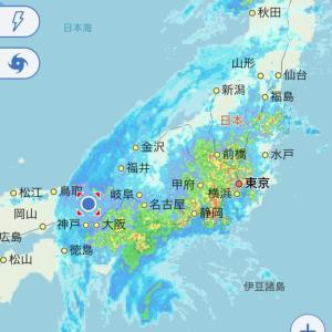 台風19号が接近中!