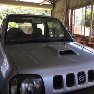 自社のジムニー、4WDに切り替わらず・・・