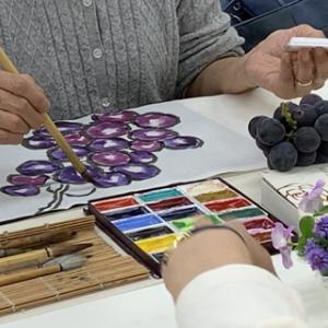 色のお勉強・10「紫」