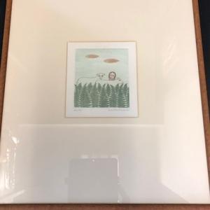 南桂子 エッジング 美術骨董絵画をお買取りさせて頂きました!