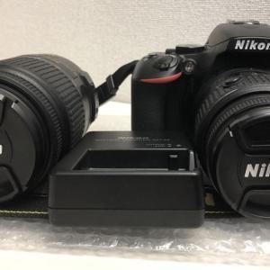ニコン Nikon デジタルカメラ D5500 ダブルズームキットをお買取りさせて頂きました!
