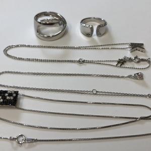 リング ネックレス 貴金属をお買取させて頂きました!