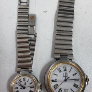 ダンヒル ペアウォッチ ブランド時計をお買取させて頂きました!