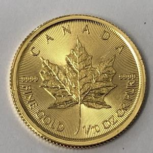 カナダ メープルリーフ金貨をお買取りさせて頂きました!