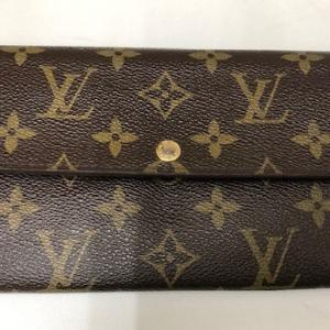 ルイヴィトン 長財布 ブランドをお買取させて頂きました!