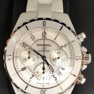 シャネル J12メンズ時計 ブランドをお買取りさせて頂きました!