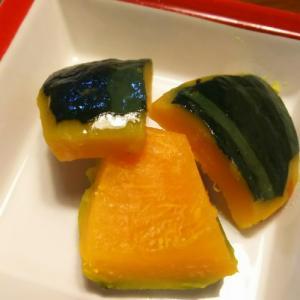 きのうのおつまみ  かぼちゃレモンバター煮