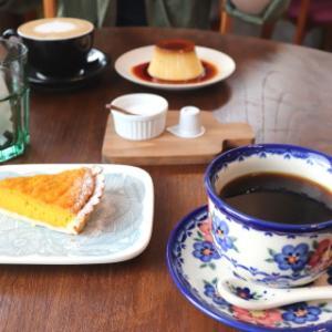 栗かぼちゃのタルト:cafe kielo(田舎館村)