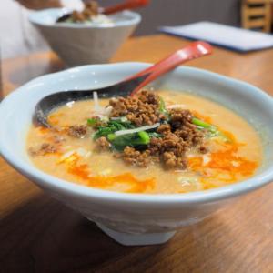担々麺:中国料理たかお(弘前市)