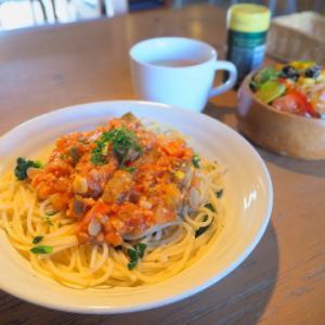 いろいろ野菜のミートソース:けや木(弘前市)