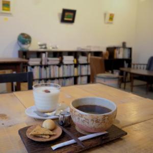 プリンとコーヒー:ギャラリーカフェふゆめ堂(五所川原市)