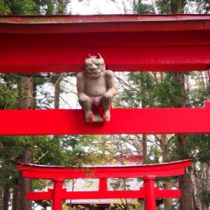 稲荷神社(板柳町)*津軽ジェンヌの鬼コ巡り(3)