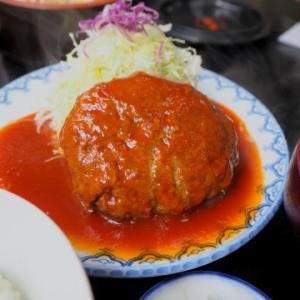 はんばーぐ定食:とんかつ・ステーキ亜希(青森市)