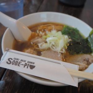 こってり醤油ラーメン:SOBE-PI(十和田市)