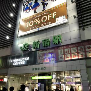 JR新宿駅から歌舞伎町へ [散策風景]