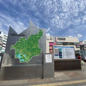 津田沼駅へ