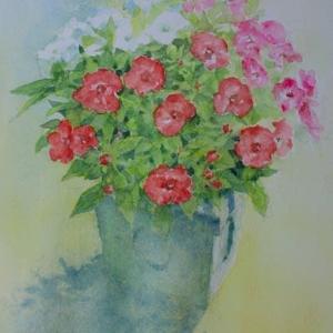 (再開)水彩お絵描き思い出めくり№234「花」