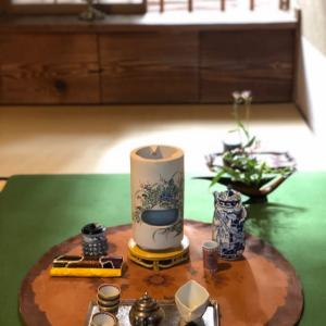 護国寺でのお煎茶の茶会