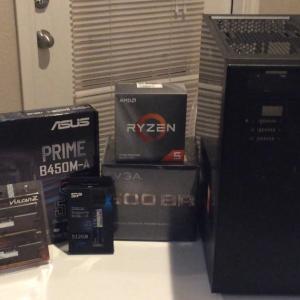 アメリカにてRyzen 5 3600でPCを作りました