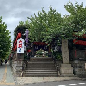 豊川稲荷東京別院大岡祭でいなりんに会えず…