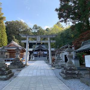 【大分神社旅②】豊後国一の宮「西寒田神社」