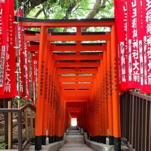 日枝神社で新月参り&キャピトル東急でシャンパンのフリーフローアフタヌーンティ