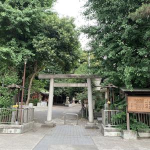 龍繋がりの品川貴船神社へ