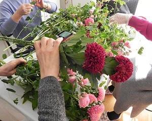 花*プチサロン OB会レッスン