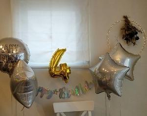 LaLaくん 4歳のお誕生日会