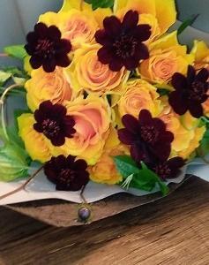 花とキャンドルがある暮らし / お誕生日