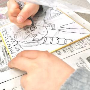 1/17(日)ららぽーと立川立飛教室〜色紙イラストレッスン〜