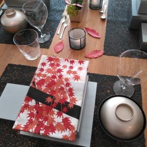 秋のテーブル☆