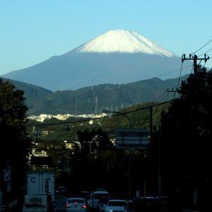 令和の初冠雪富士山を撮ったぜ!の画像