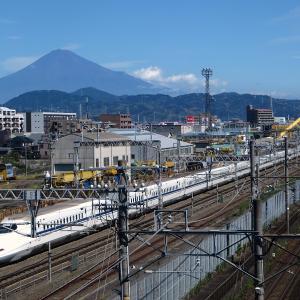 【雪化粧清水富士追加!】静岡市からの富士山とかちびまる子ちゃんの画像